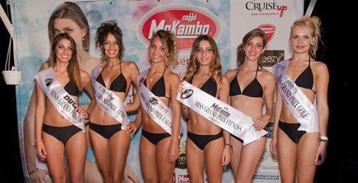 Miss Grand Prix, le vincitrici della tappa di Roseto degli Abruzzi del 31 luglio 2014